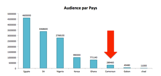 audience pays africains sur facebook
